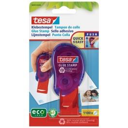 Lepicí razítko TESA, 8,4 x 8,4 mm, 1100 lepicích bodů, permanentní, blistr