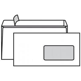 Obálka DL okno samolepicí s krycí páskou 110x220mm