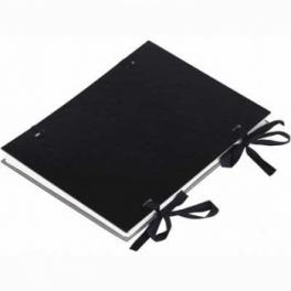 Spisové desky A4 s tkanicí lux silné 2mm