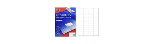 Samolepící etikety pro kopírky a laserové tiskárny