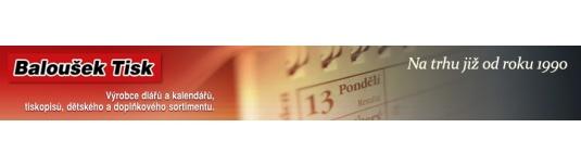 Baloušek-kalendáře a diáře+potisky a ražba