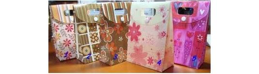 Balící papíry a dárkové tašky