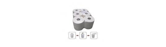 Papírové ručníky, utěrky, průmyslové role a prostěradla